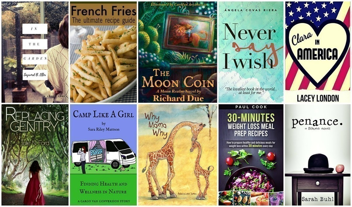 FREE Kindle Books: Camp Like a Girl, 30 Minute Weight Loss Meals + More