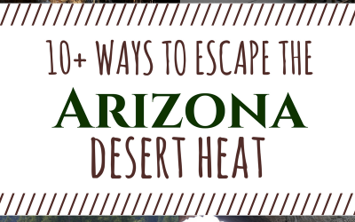 Over 10 Ways to Escape the Arizona Desert Heat