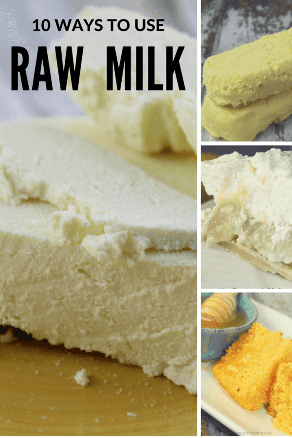 There is no question that raw milk is incredible for your health - here are 10 Ways to Use Raw Milk.