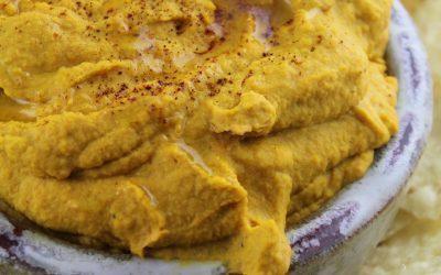 Roasted Carrot and Garlic Hummus