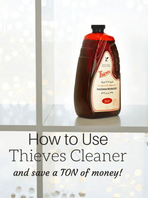 Household Uses for Thieves Cleaner