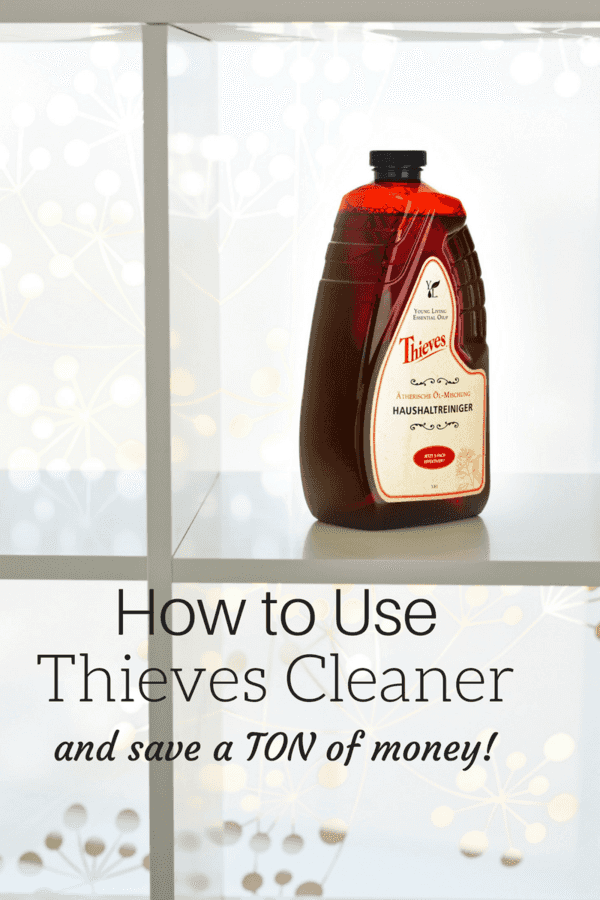 Thieves Cleaner is a non-toxic, plant-based cleaner that is pet friendly - it has so many household uses! Here are some unique ways to use Thieves Cleaner and save a ton of money.