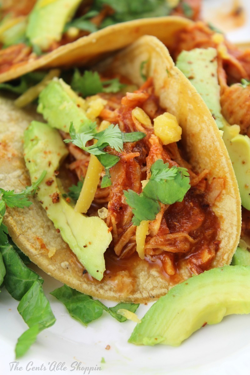An easy Instant Pot shredded chicken that's full of flavor and perfect to have on hand for shredded tacos, burritos, tostadas and more.