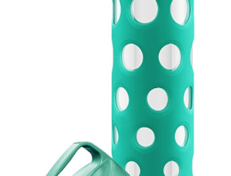 Amazon: Ello Pure BPA-Free Glass Water Bottle $7