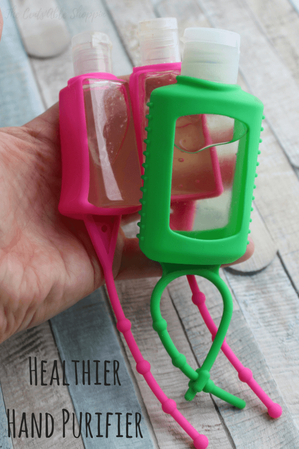 Here's a healthier hand purifier that's incredibly simple to make with just two ingredients!