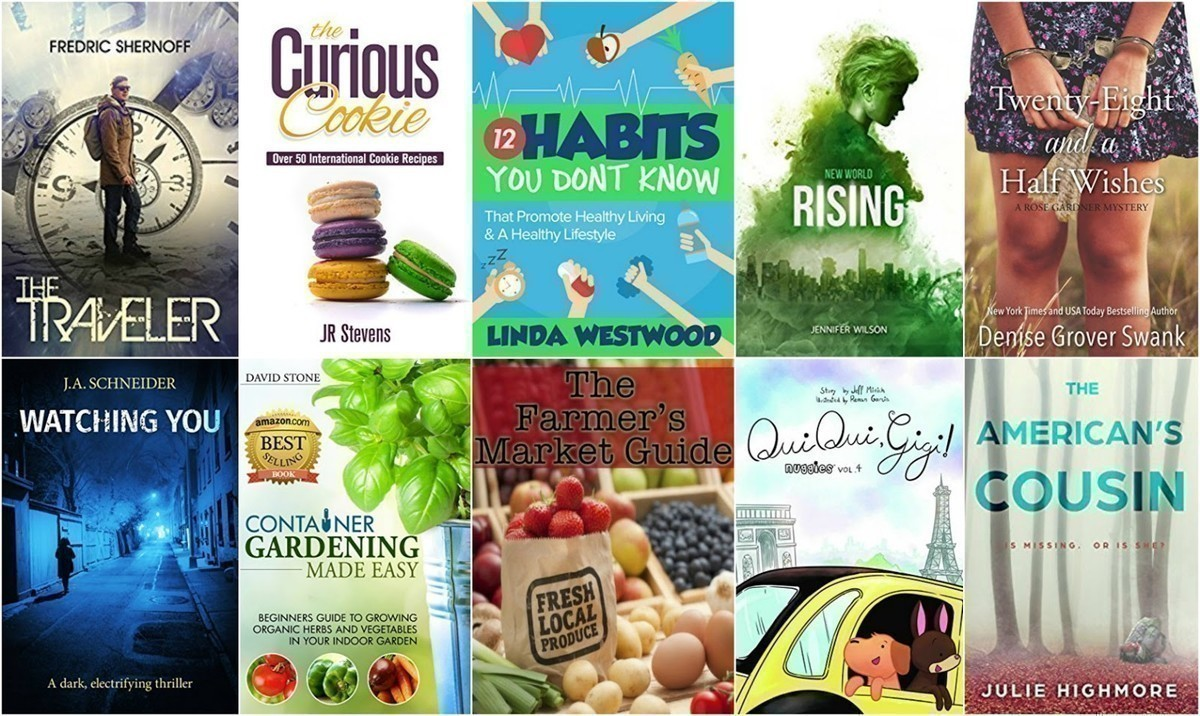 FREE Kindle Books | The Curious Cookie, The Farmers Market Guide + More