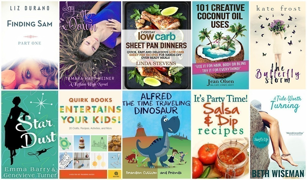 FREE Kindle Books | 101 Coconut Oil Uses, Low Carb Dinners + More