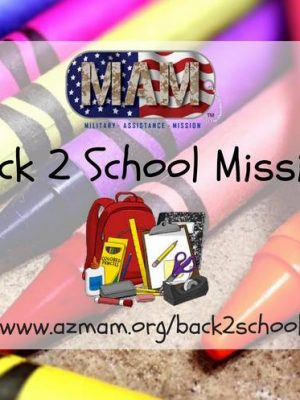 Arizona Military Assistance Mission Back to School Brigades (Phoenix, Tucson)