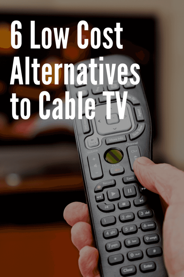 The monthly cost of cable in the U.S. averages at $123 per household - and with that, there really isn't any surprise that many people have opted to cut the cord in favor of better pried options. Here are 6 low cost alternatives to cable TV.