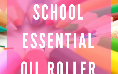 Back to School Essential Oil Roller Blends