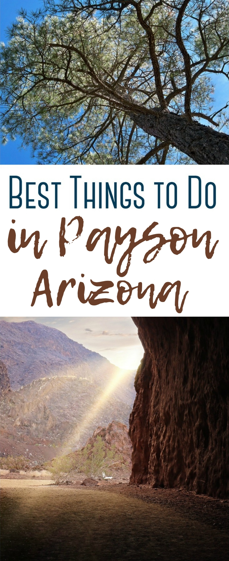 Over 10 of the fun and affordable things to do in Payson - from historical attractions to natural scenery, and eateries to help you enjoy this Arizona gem!