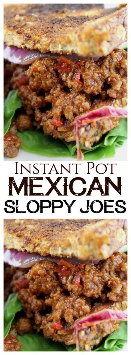 A traditional twist on homemade sloppy joes with the addition of Mexican spices and chile.