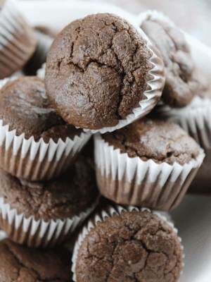 Paleo Chocolate Zucchini Muffins