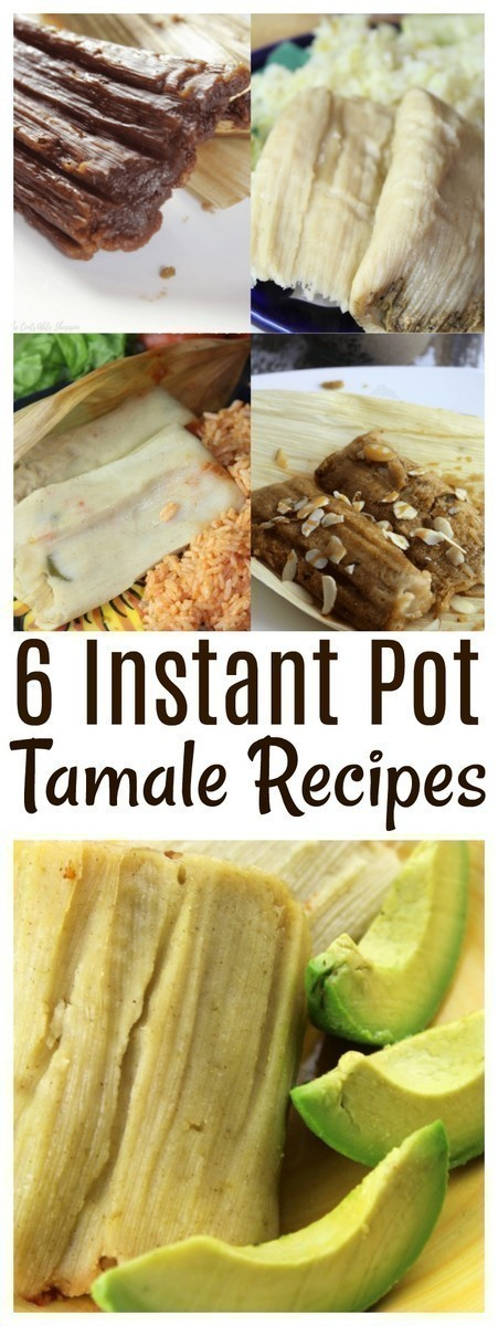 Tamales are a Mexican favorite and truly a labor of love! Here are 6 varieties you can make in your Instant Pot!
