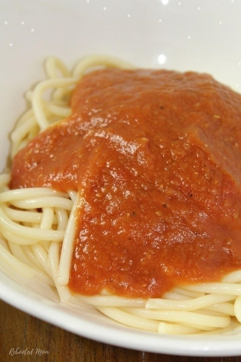 Instant Pot Marinara Sauce (2 secret ingredients)