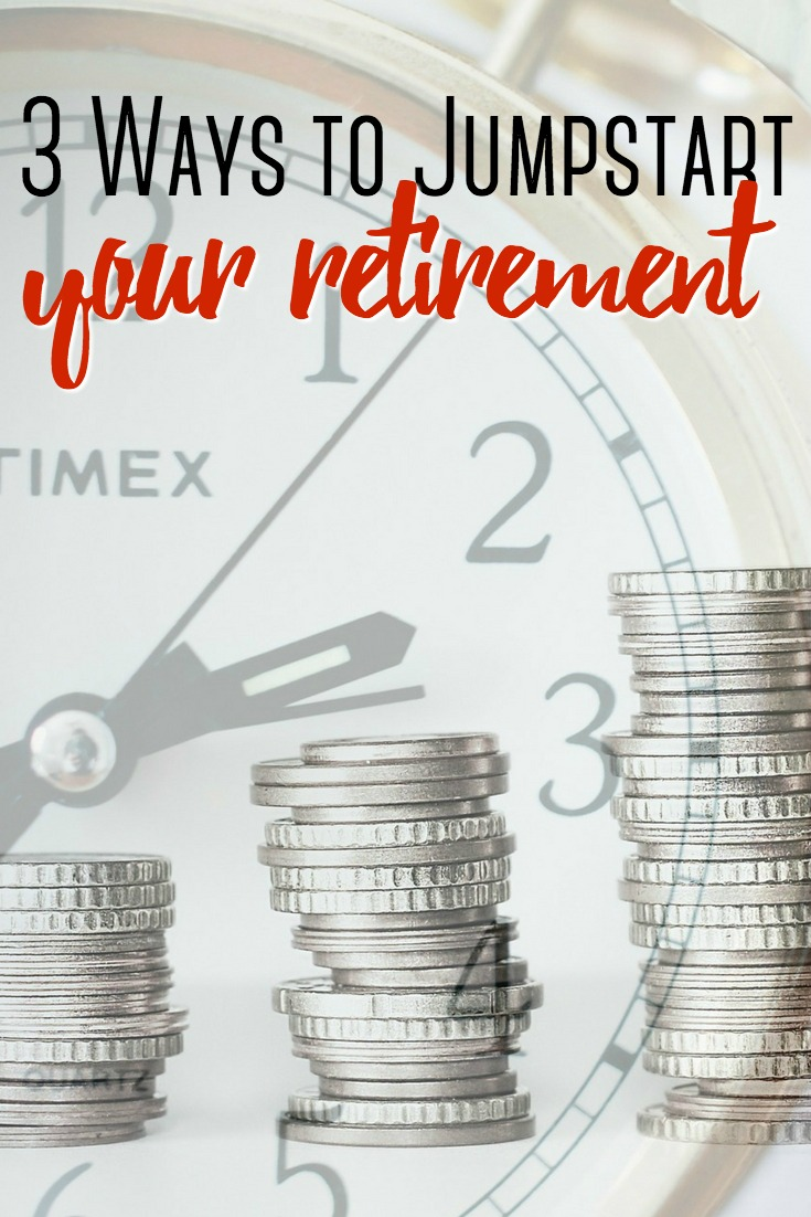 In a savings rut? Here are 3 ways to jumpstart your retirement so you can make the most of your investments and establish a savings goal for the future.