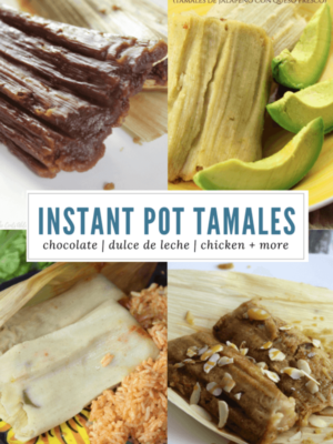6 Tamales for your Instant Pot