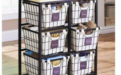 Better Homes and Gardens 6 Drawer Wire Cart just $55