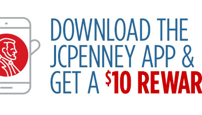 JCPenney: FREE $10 Reward with App Download