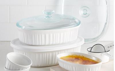 Corningware French White 10 pc Bakeware Set $19.99