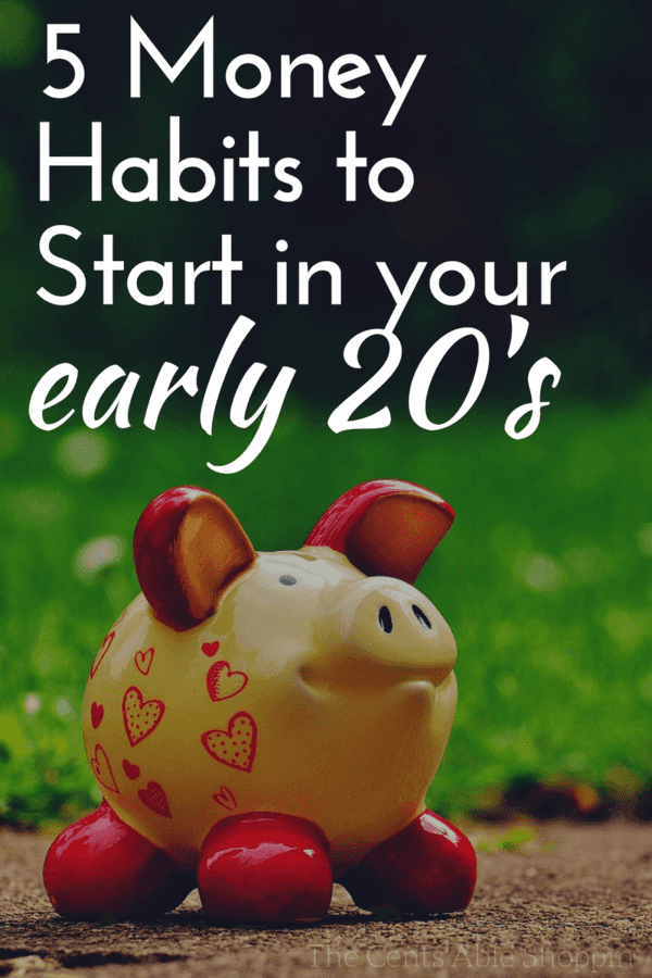 Are you in your early twenties? If so, here are 5 money habits you will want to know to help you plan ahead for retirement!