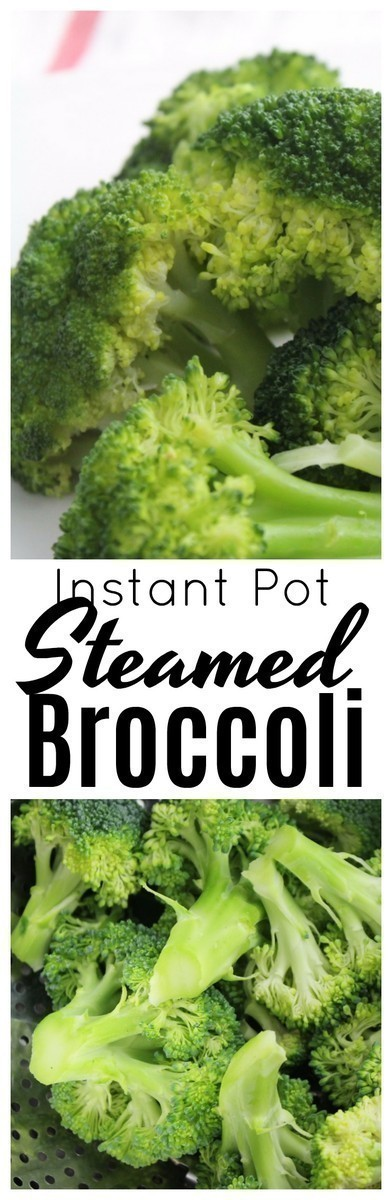 Use your Instant Pot to make perfectly steamed broccoli in a matter of minutes!