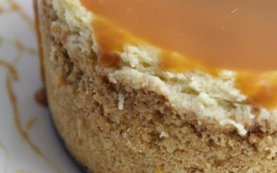 Instant Pot Dulce de Leche Cheesecake