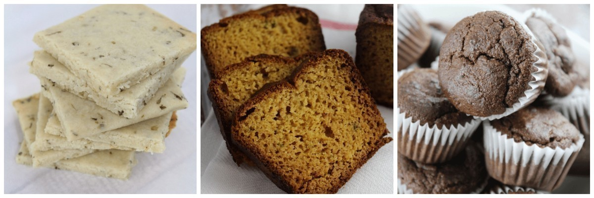 Are you gluten intolerant? Here are 12 gluten free breads, muffins, cookies, and snacks that you will LOVE!