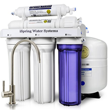 c7918dd5709 Amazon  iSpring 5-Stage Reverse Osmosis Drinking Water Filter  158 ...