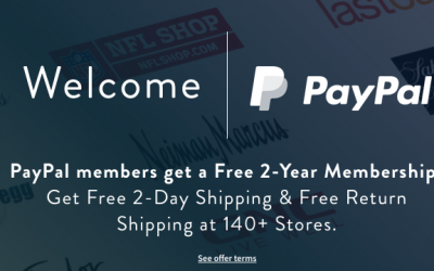 PayPal Members: FREE 1-Year ShopRunner Membership
