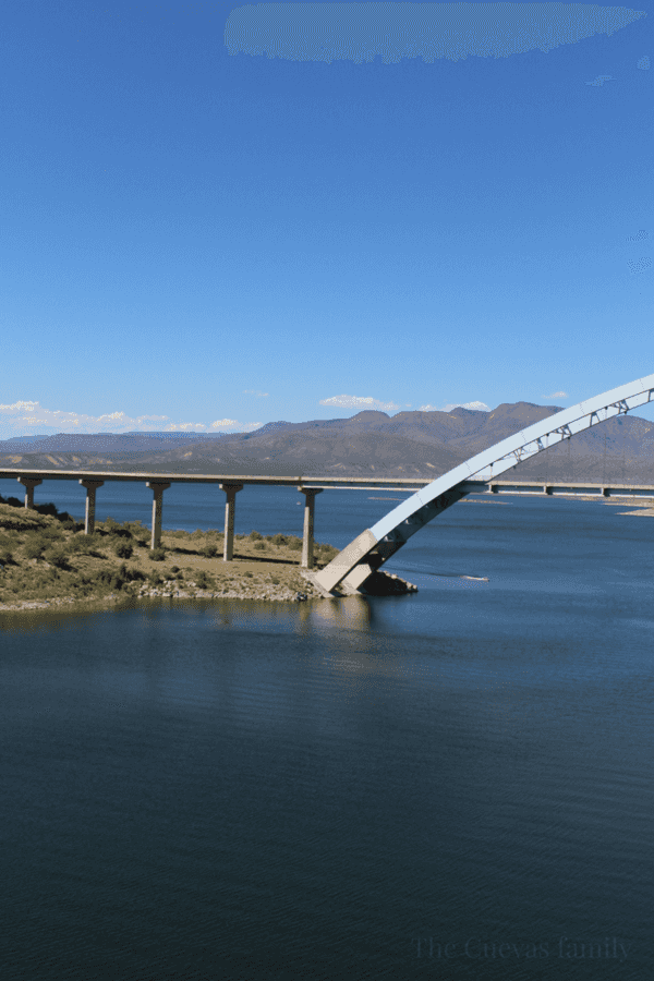The largest artificial reservoir in Arizona, Roosevelt Lake is a wonderful day trip to take just outside of the Phoenix area.