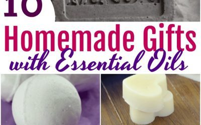 10 Homemade Gifts with Essential Oils