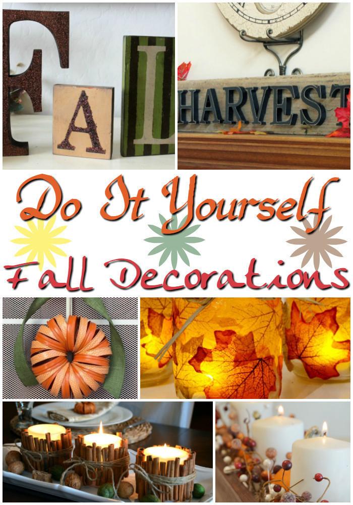 15 DIY Fall Decorations