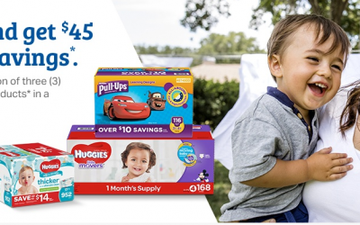 Sam's Club: $45 Savings on Huggies Products