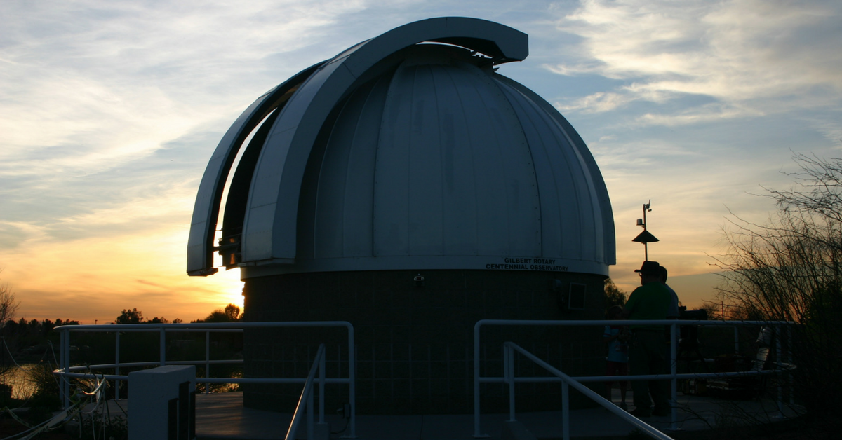 Visit the Gilbert Rotary Centennial Observatory