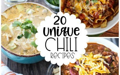 20 Unique Chili Recipes