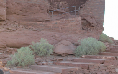 Visiting Wukoki Pueblo Ruins (Arizona)