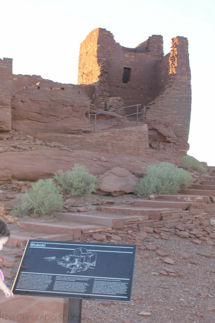 Visiting Wukoki Pueblo Ruins (Arizona)