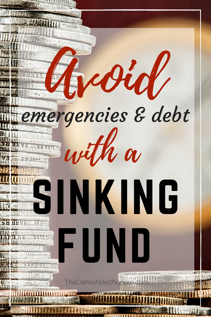 A sinking fund is a great way to help you avoid emergencies and debt, while also allowing you to plan ahead to the future for wants and needs.