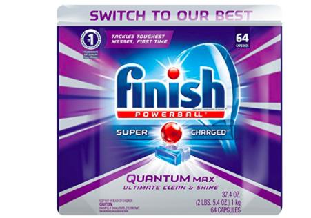 Amazon: Finish Powerball Quantum Max 64 ct $9