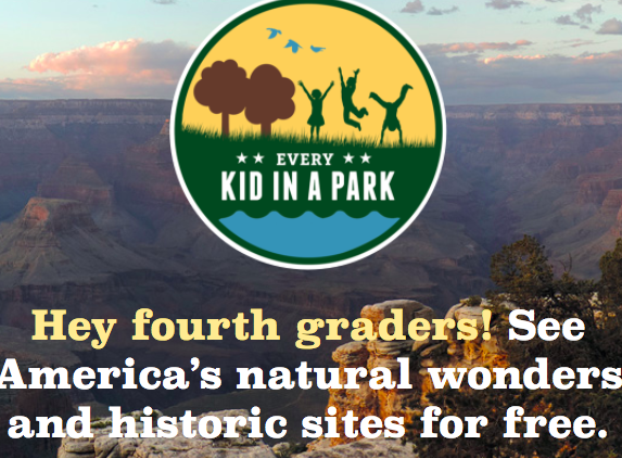 FREE National Parks Pass for Fourth Graders and Families