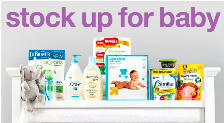 Target: Spend $75 on Baby Items Score a $20 Gift Card