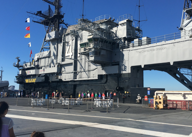The U.S.S. Midway was America's longest-serving aircraft carrier of the 20th century. It is now docked in San Diego and is a once-in-a-lifetime experience.