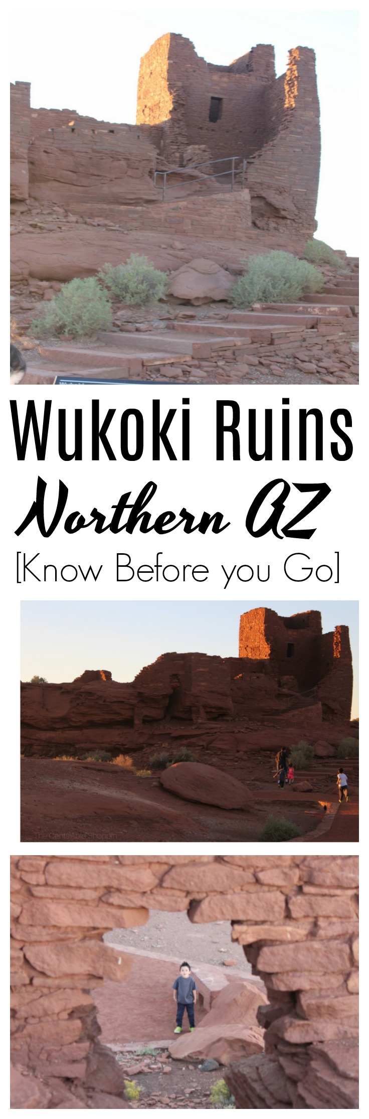 The Wukoki Pueblo Ruins are a really interesting and unique place to visit in Northern, Arizona. Find out what you need to know before you go!  #arizona #travel #flagstaff
