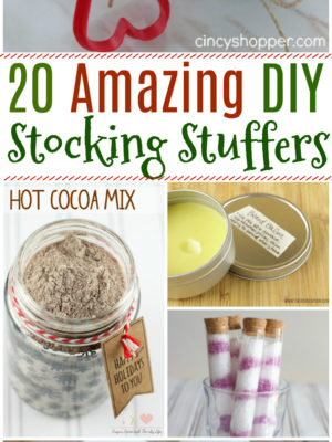 20 Amazing DIY Stocking Stuffers