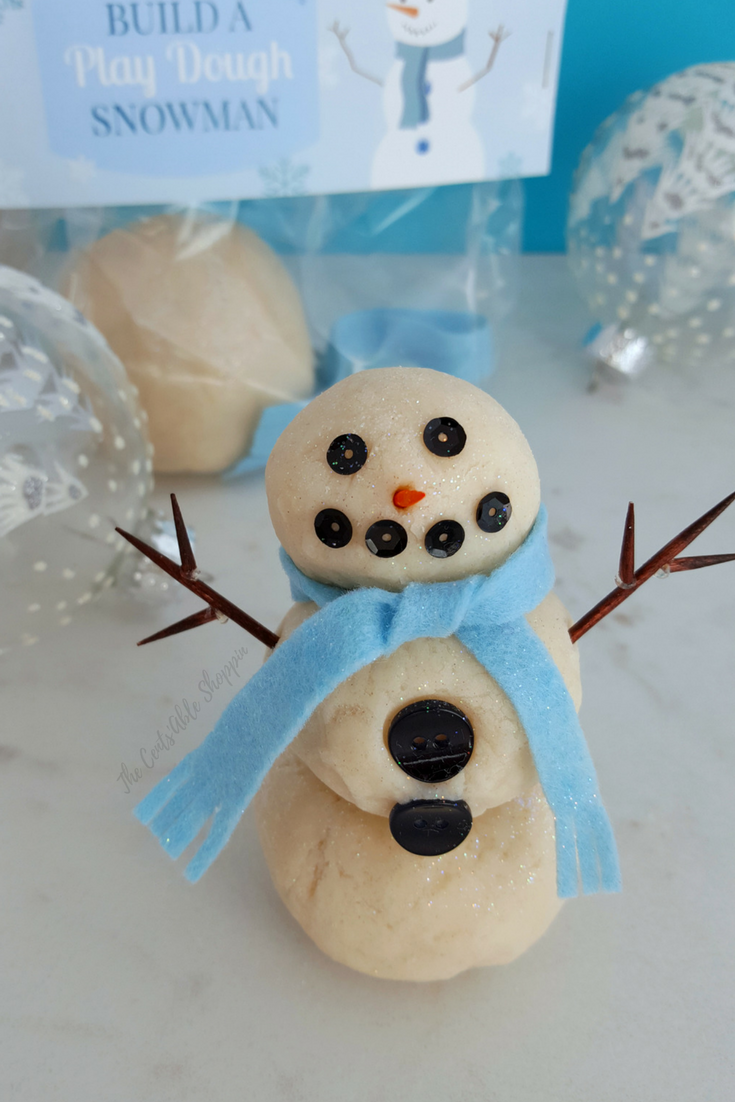 Build a Snowman Play-Dough Kit - The Cents'Able Shoppin