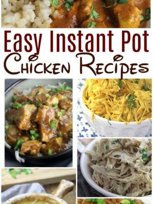 Over 15 Instant Pot Chicken Recipes