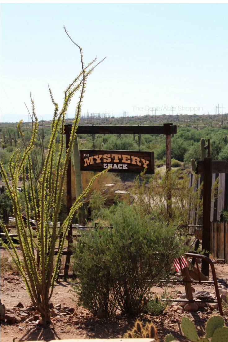 Goldfield Ghost Town is an authentic, reconstructed ghost town in Apache Junction, Arizona - right at the base of the Superstition Mountains east of Phoenix. The town features gold mine tours, gold panning, gunfights, a zipline and more.