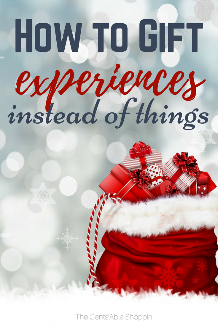 How to Gift Experiences Instead of Things – The CentsAble Shoppin