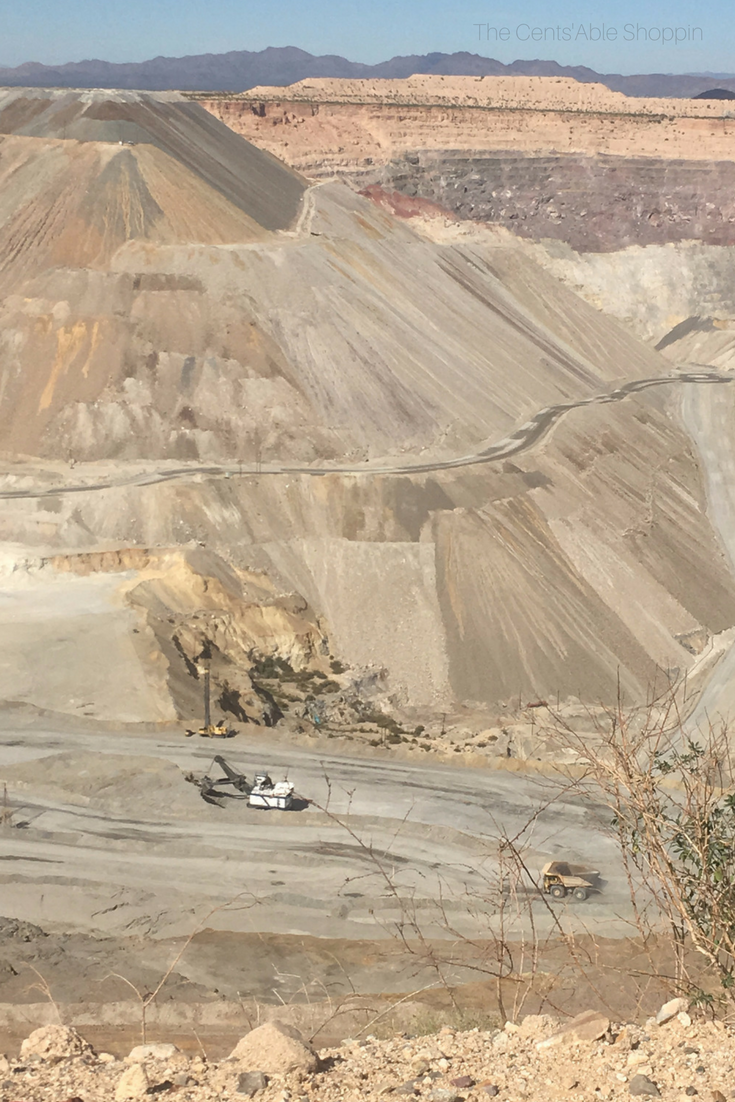 The ASARCO Mineral Discovery Mine just south of Tucson is the largest open-pit copper mine in Arizona that is available for public tours (without reservation). It's an incredible learning opportunity for people of all ages! #Arizona #RoadTrip #ASARCO #CopperMine #Tucson
